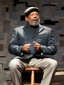 Channelling August Wilson is Eugene Lee, in The Public's 'How I Learned.'