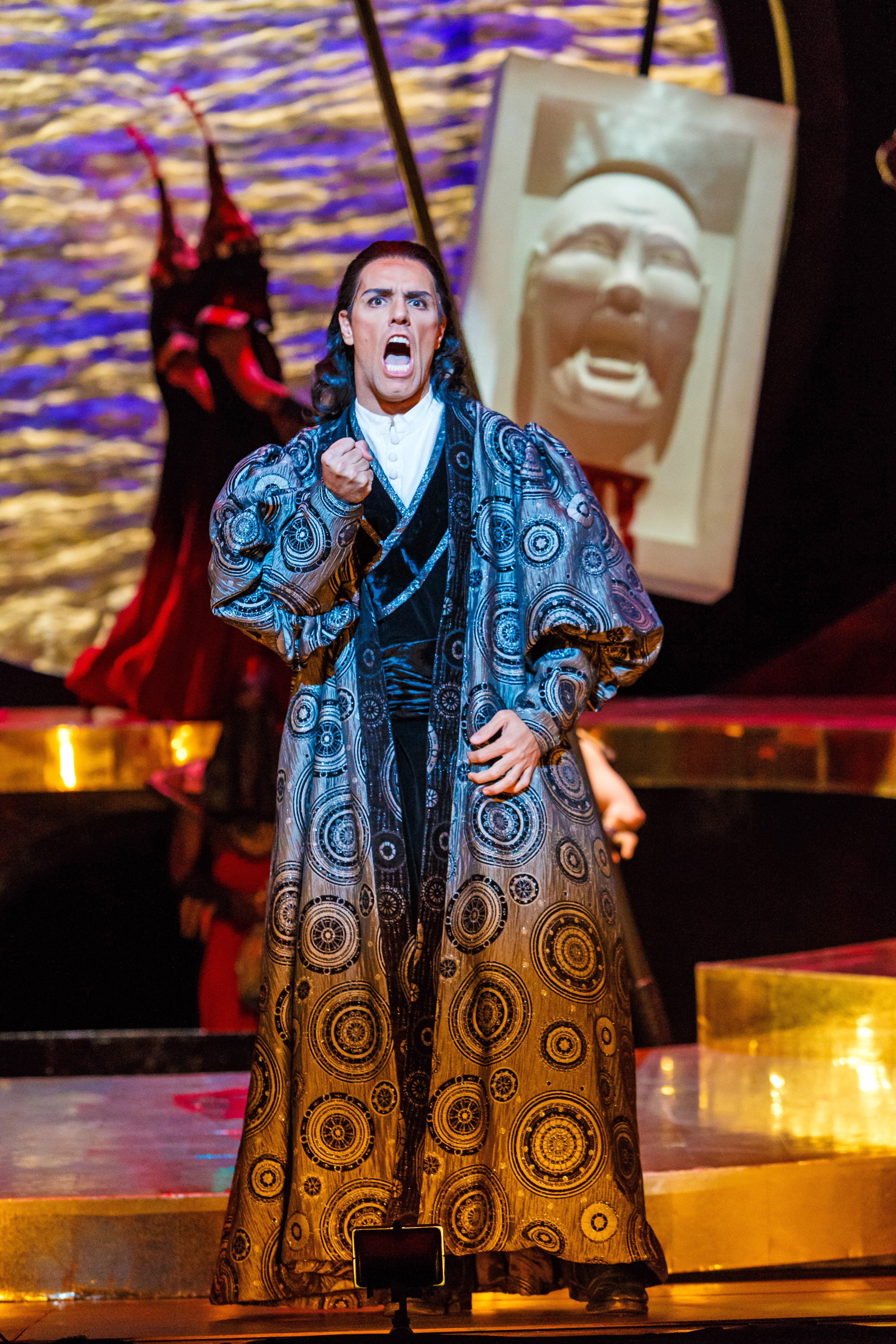 Prince Calaf (tenor Thiago Arancam) will not be denied in 'Turandot.'