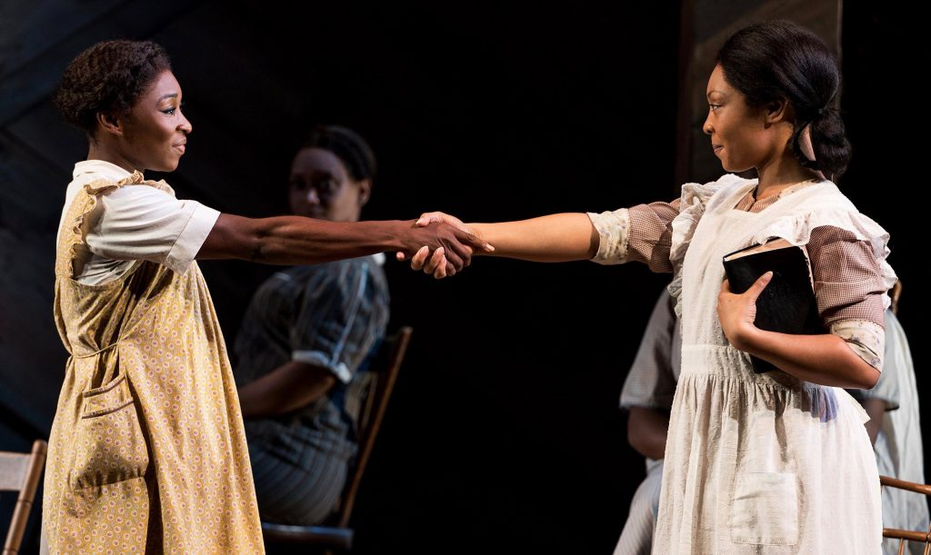 Your red and green can wait—here comes 'The Color Purple.' The touring musical is part of a rich variety of shows in town preceding the holiday season.