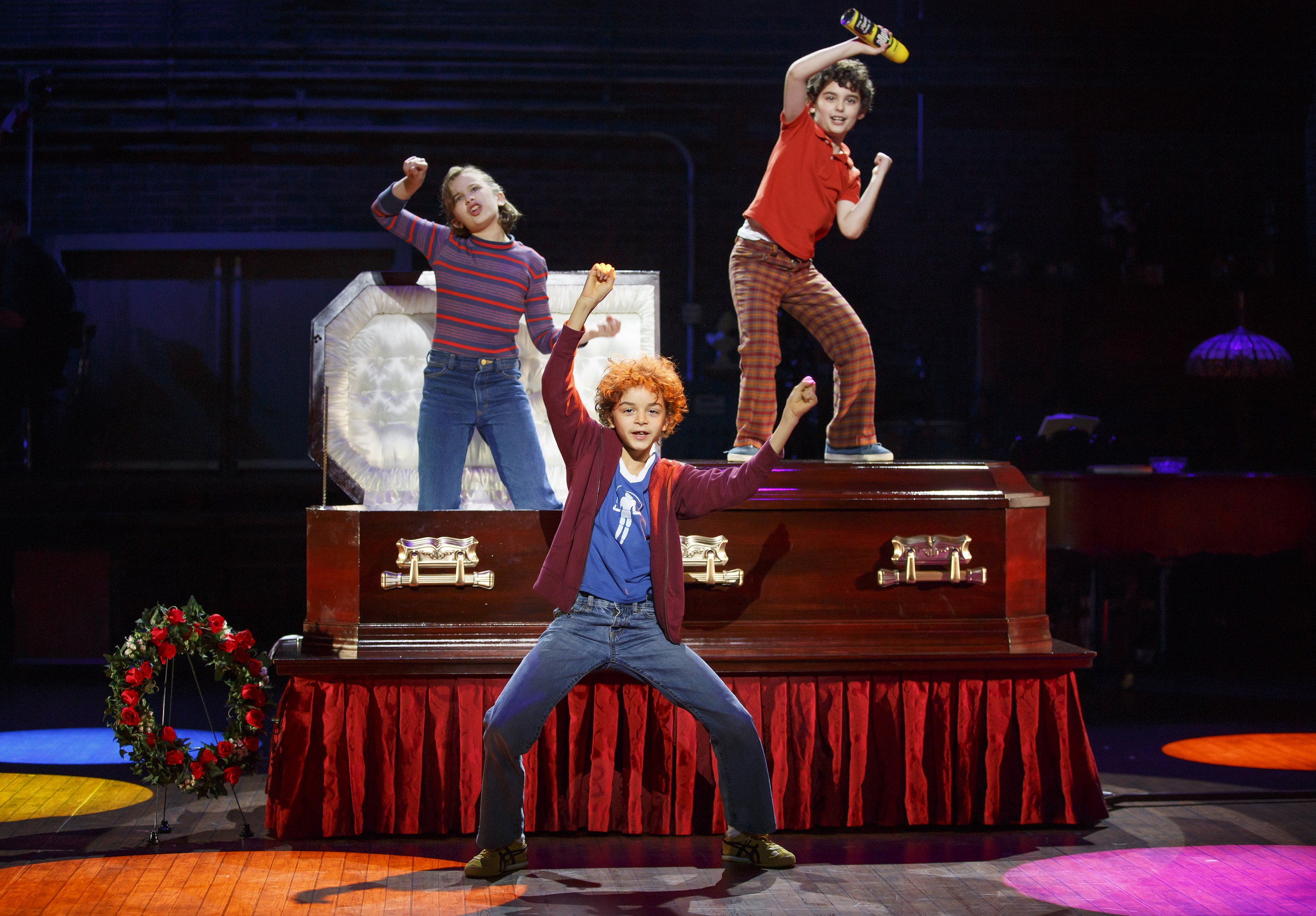 Many children may have wished they could do this but the kids in 'Fun Home' get to do it on stage.