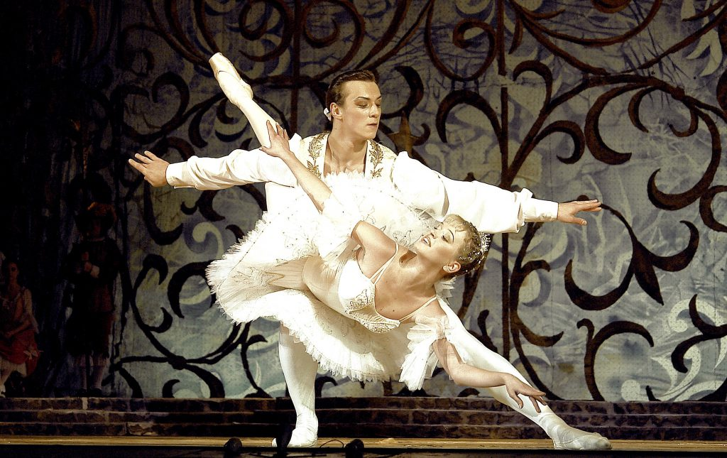 """After a hundred-year beauty sleep, Princess Aurora visits Pittsburgh with her new squeeze Prince Désiré in the Russian Grand Ballet's """"The Sleeping Beauty."""""""