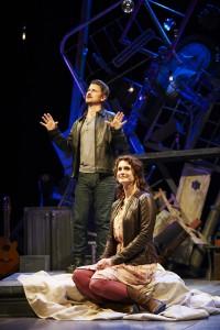 Redd and Van Driest deliver convincing performances in demanding roles.
