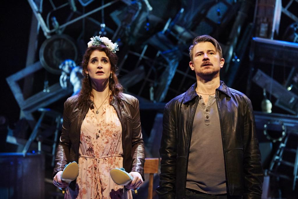 """Carey Van Driest as Helena and Randy Redd as Bob indulge in a weekend of escapism in """"Midsummer."""""""