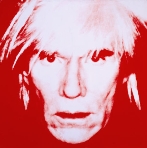 Are there visions of mortality in Warhol's 1986 'Self-Portrait'? Andy died the next year.