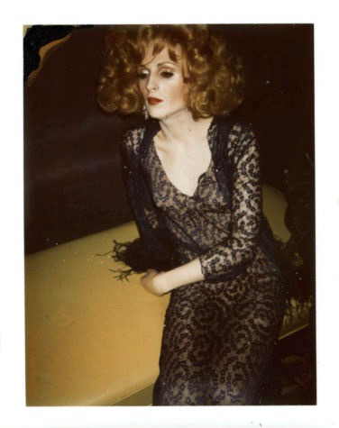 Candy Darling acted in plays including the premiere of Tennessee Williams' 'Small Craft Warning.' Along with others in Warhol's circle, notably Jackie Curtis and Holly Woodlawn, she helped to break new ground for trans performers on stage and screen. (photo: Andy Warhol, 1969, © The Andy Warhol Foundation for the Visual Arts, Inc.)