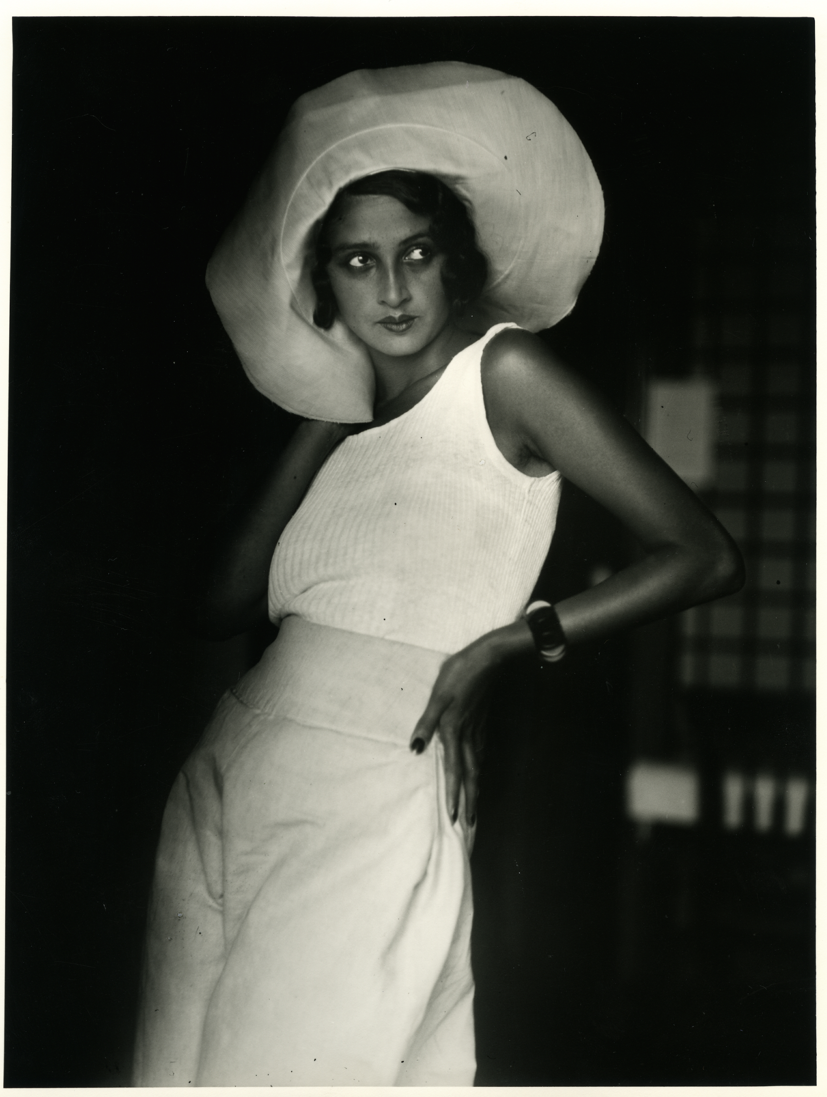 Hip to the times, the new woman of 1930 was Lartigue's model Renée Perle.