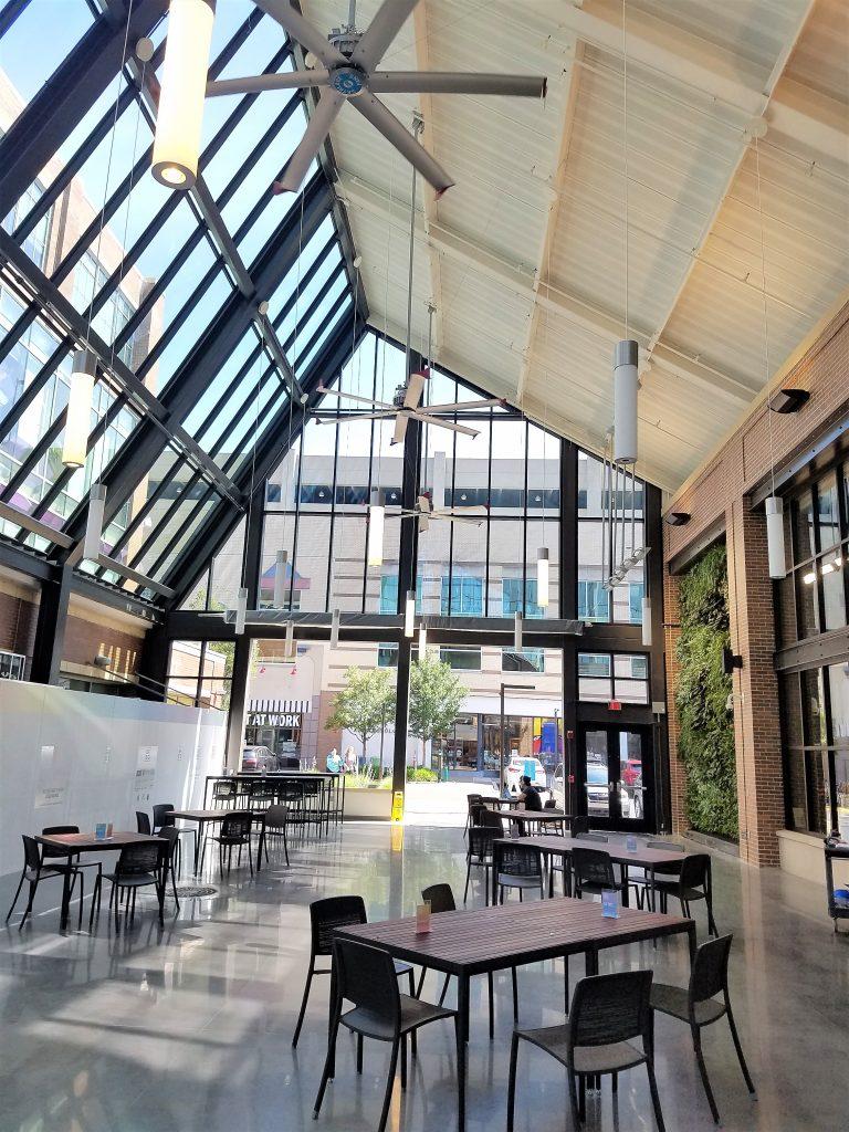 Atrium area.