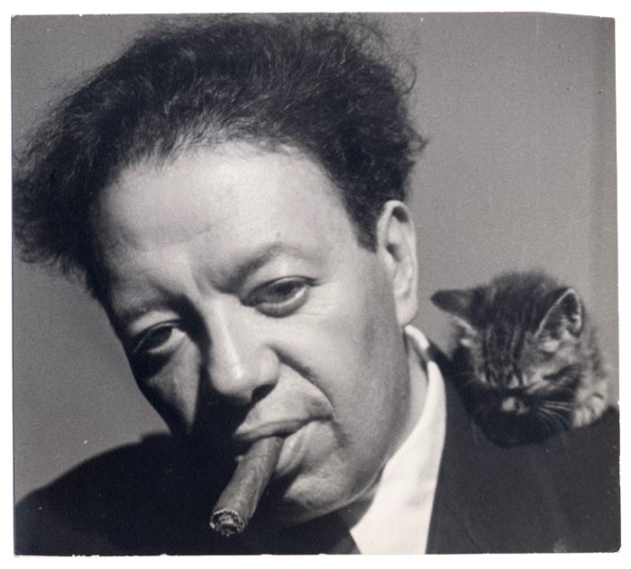 Diego Rivera, captured here in a portrait oozing with symbolism, cast both light and shadows across Kahlo's life. (Photo circa 1929 by Tina Modotti, from The Vicente Wolf Collection)