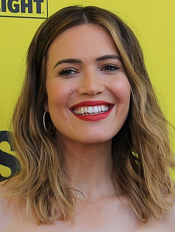 Mandy Moore at SXSW 2018. (photo: Daniel Benavides and Wikipedia).
