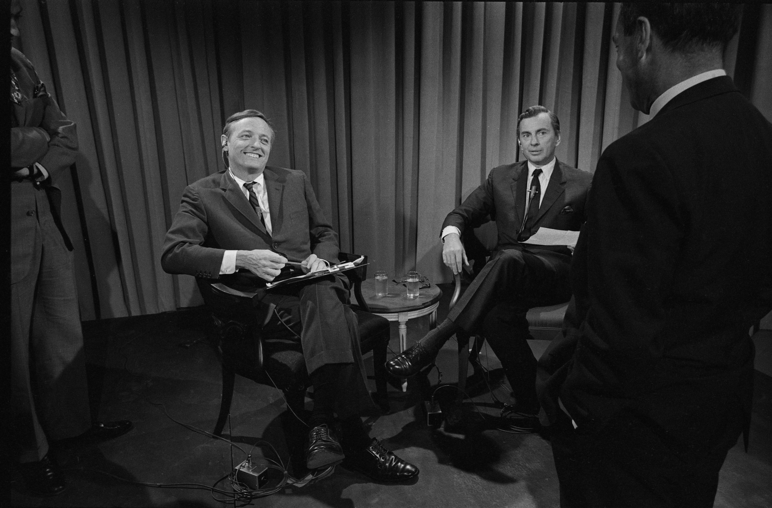 Buckley vs. Vidal, ABC News political debate in 1968.