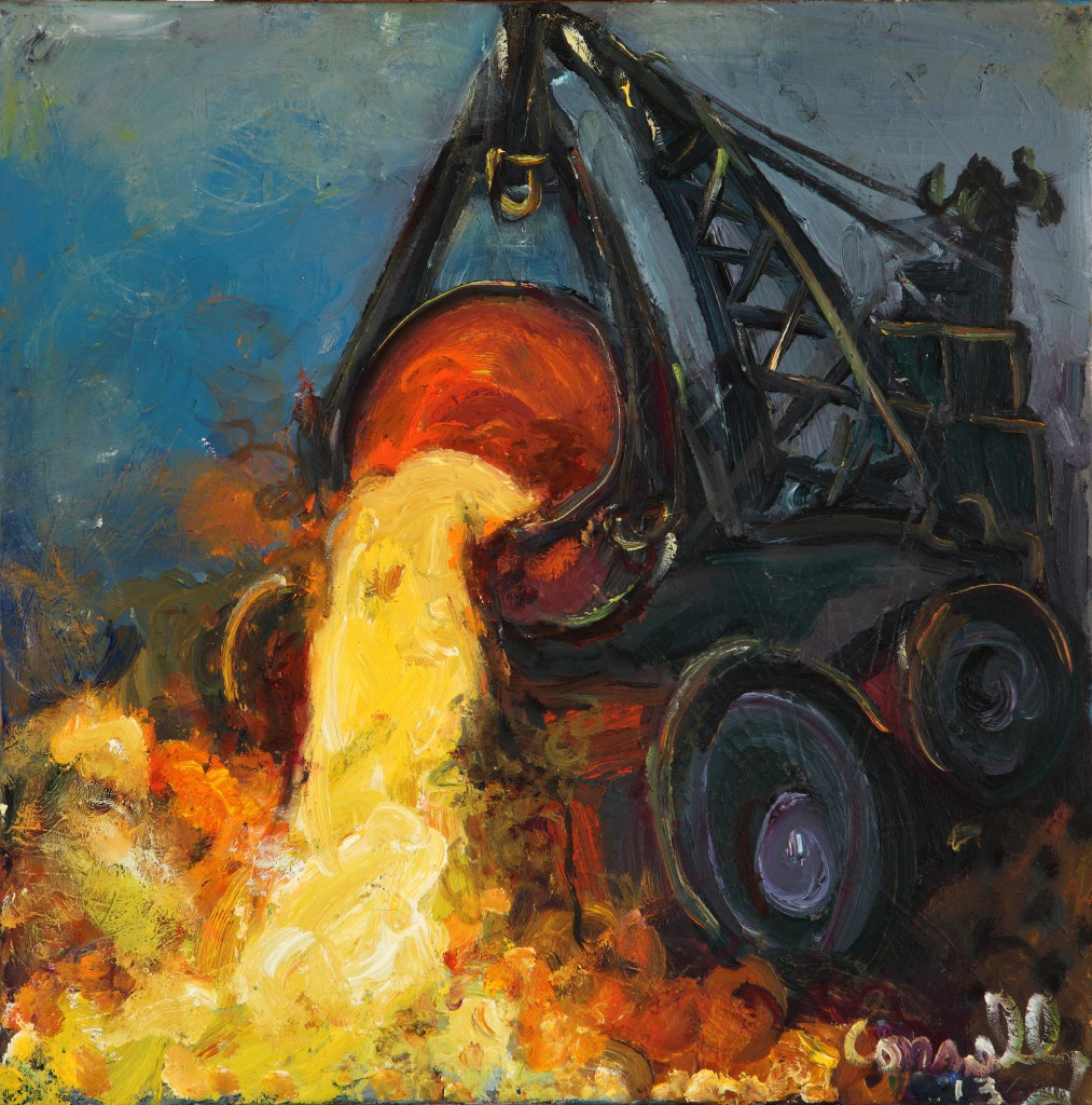 Chuck Connelly, Slag, 2013, Courtesy of the artist