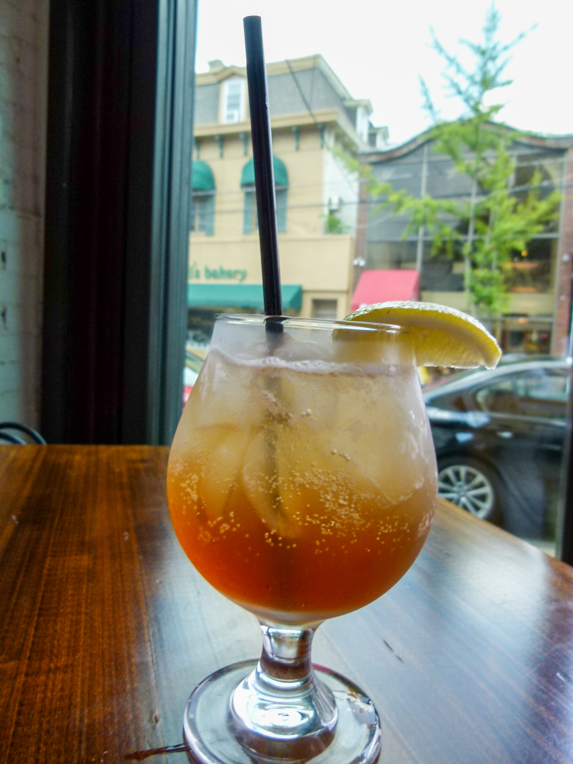 House-made Dr. Ayers Sarsaparilla.