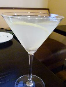Martini Limoncello.