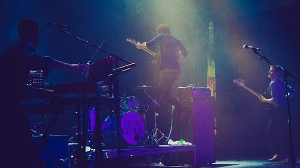 Atlas Genius performing at Riverside, Austin, Texas in 2013. photo: Nan Palmero.