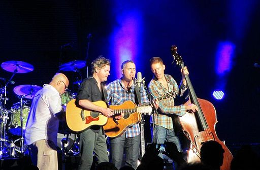 Barenaked Ladies at Jones Beach, New York, August 2012. photo: Reverend Mick man34