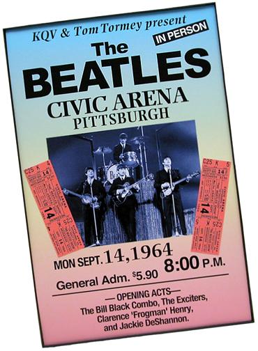 Beatles' Concert Poster 2
