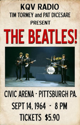 Beatles' Concert Poster