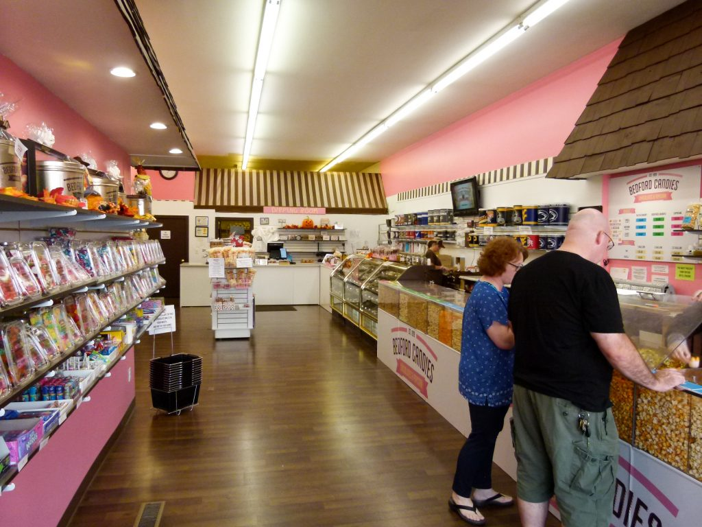 There's something for everyone at Bedford Candies.