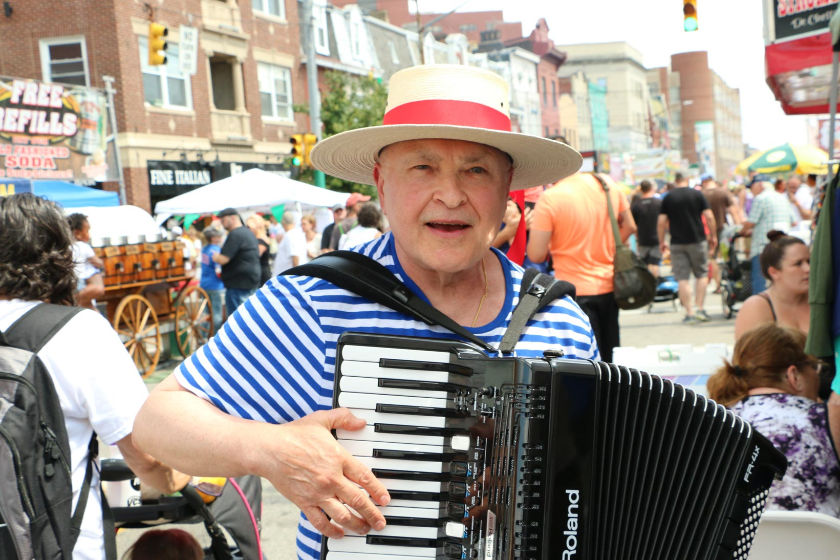 Bring your main squeeze or just have a good time solo at Little Italy Days in Bloomfield.