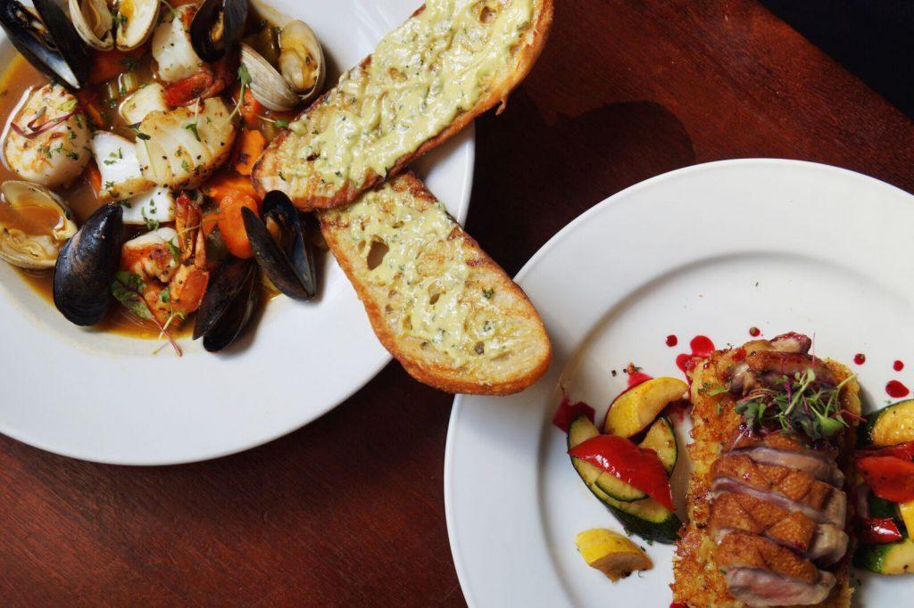 Braddock's Pittsburgh Brasserie has added some new seasonal offerings to its menu.