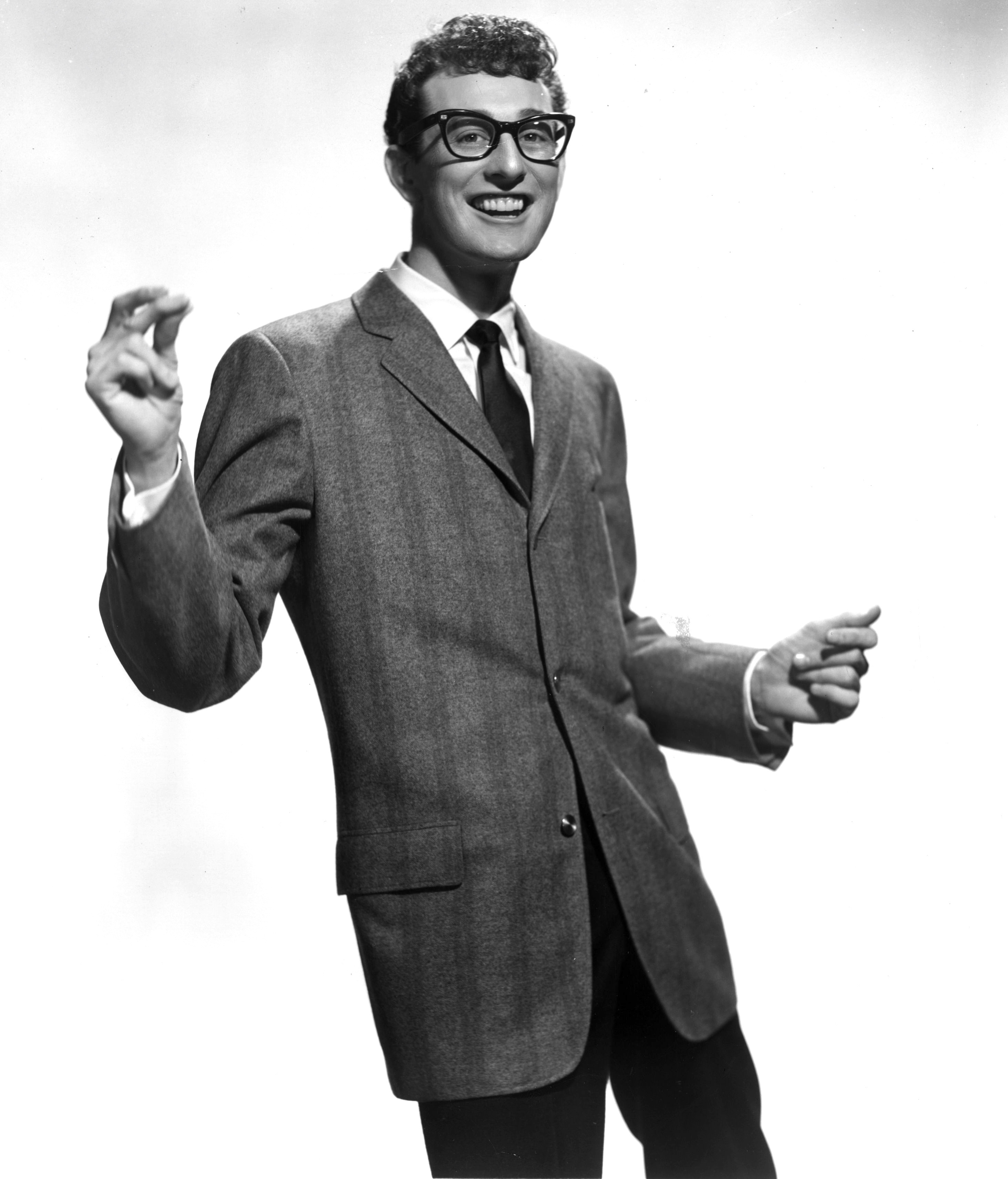 In a short time, Buddy Holly made a huge imprint on rock music and loved every minute.