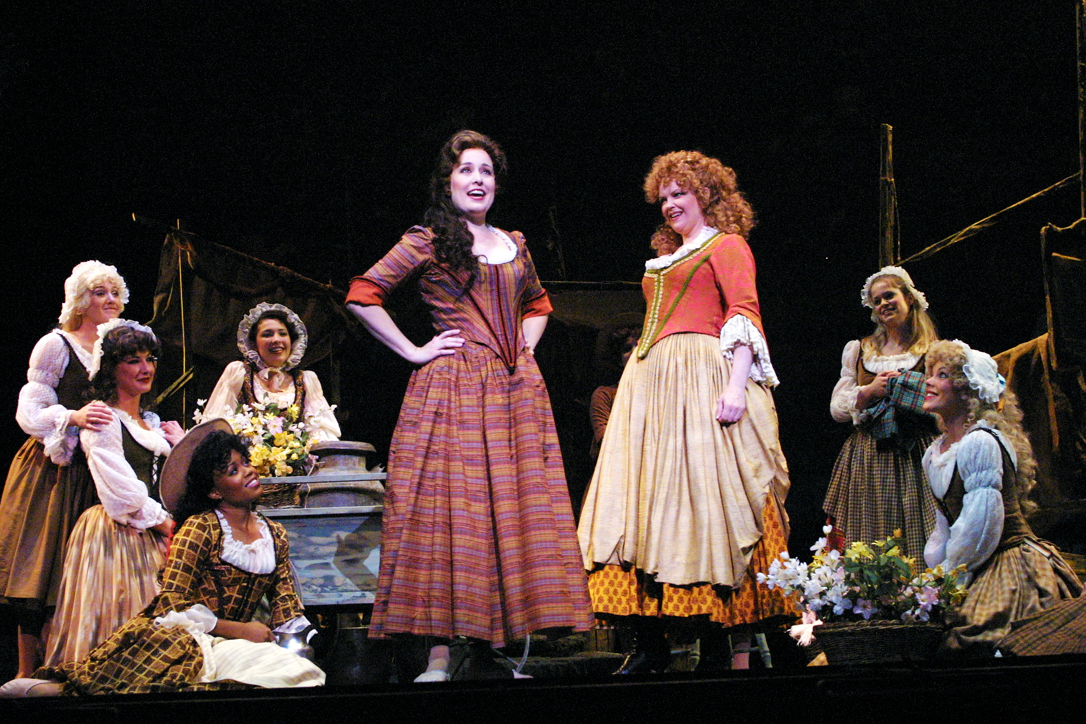 Out from the Scottish mists come the women of 'Brigadoon,' in a month when musicals take the spotlight.