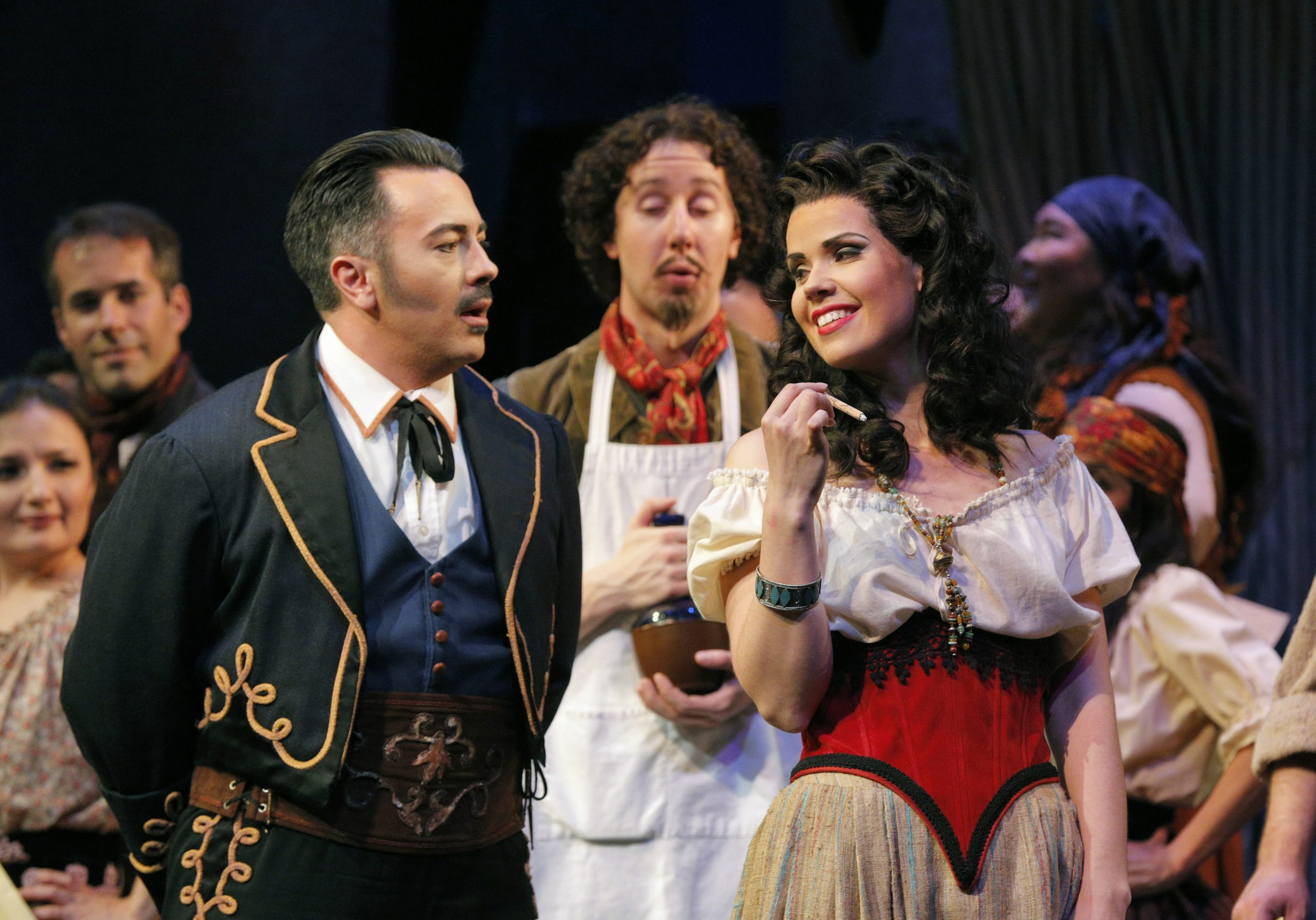 Pittsburgh Opera performs the classic opera 'Carmen' at the Benedum March 26 to April 3, 2022. (photo: Cory Weaver)