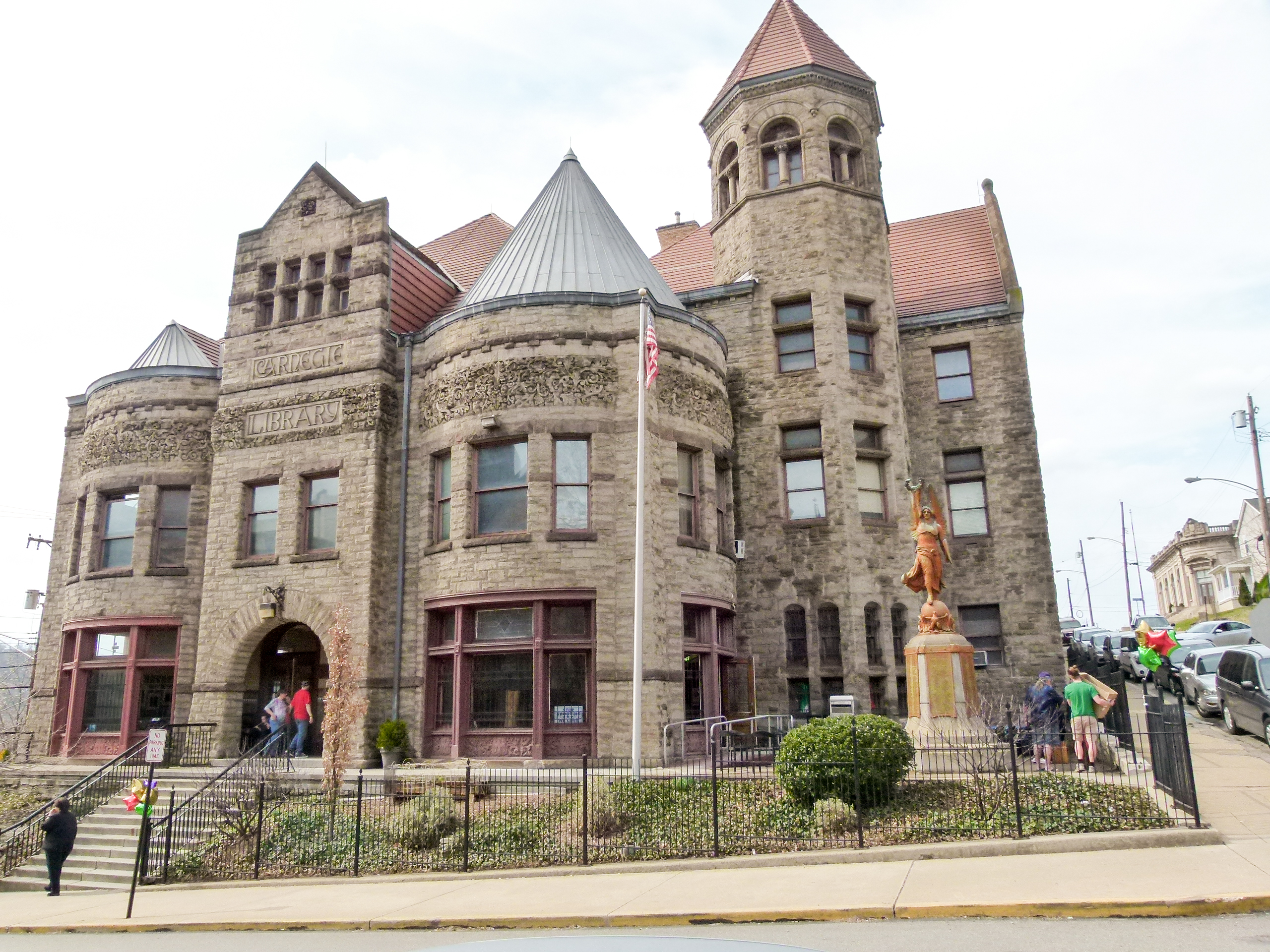 The Braddock Carnegie Library held its 10th Annual Chili Cook-off fundraiser in its beautiful and historic building.