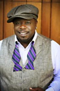 Cedric the Entertainer, stylish and charming.
