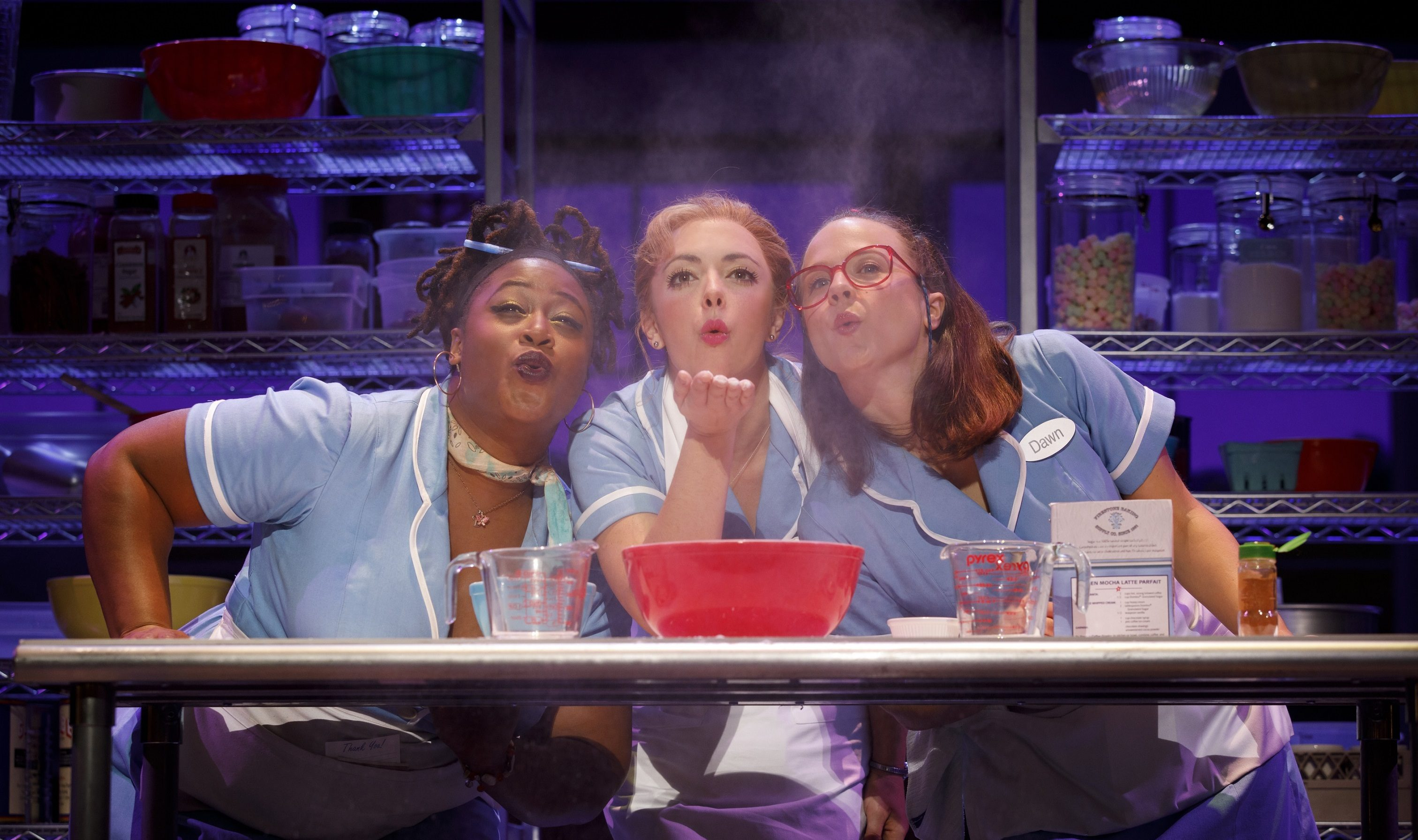 "The ingredients are odd but ""Waitress"" aces the taste test for audiences nationwide."