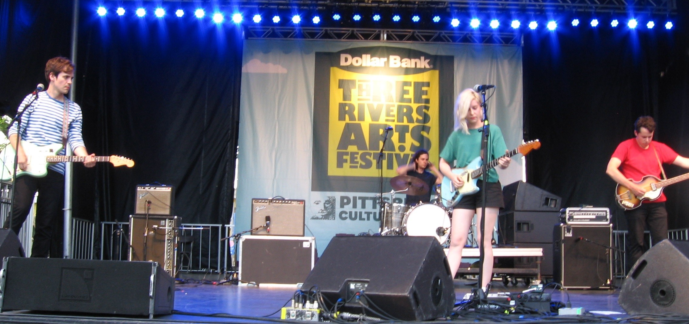 Alvvays in Concert at Three Rivers Arts Festival