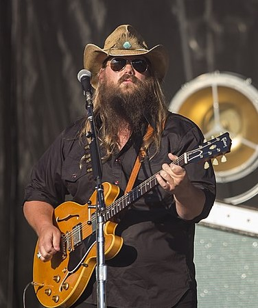 "Chris Stapleton performing on ""Austin City Limits"" in 2016. (photo: missmojorising and Wikipedia)"