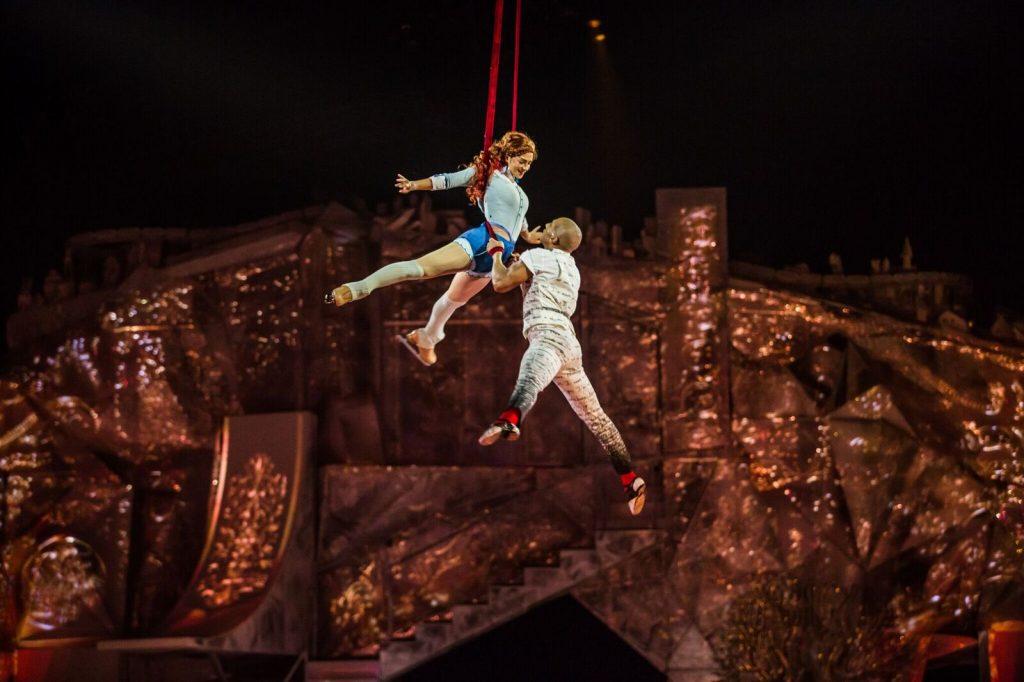 Cirque du Soleil Crystal beautifully combines acrobatics and ice skating. Photo: Matt Beard.