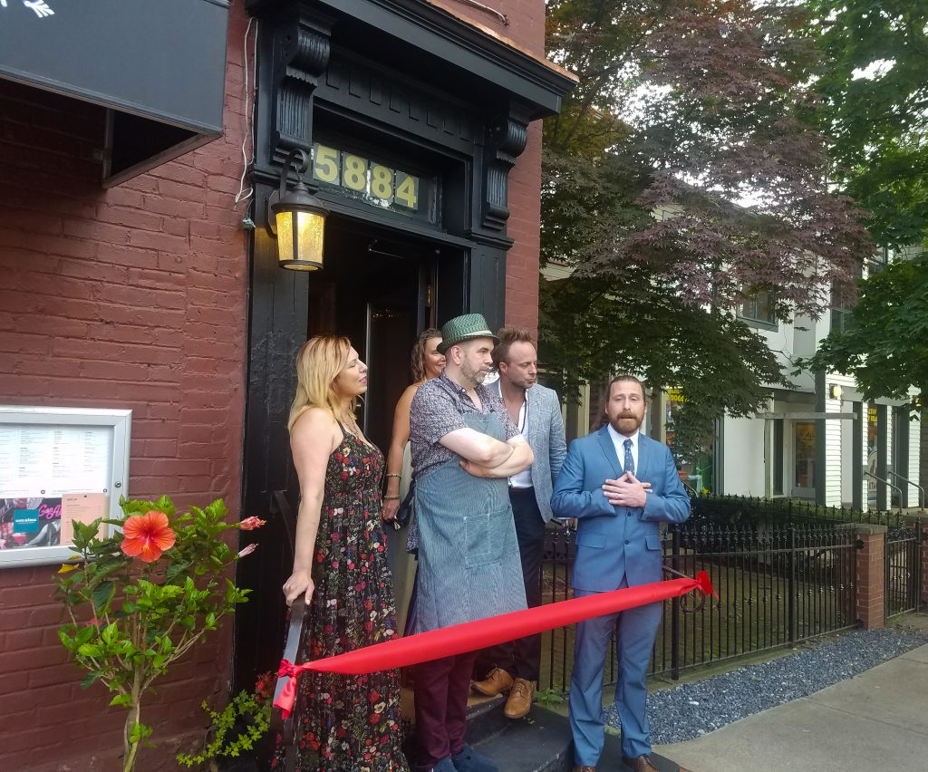 Con Alma Restaurant and Jazz Bar had a ribbon cutting ceremony on July 25 to signify their official opening.