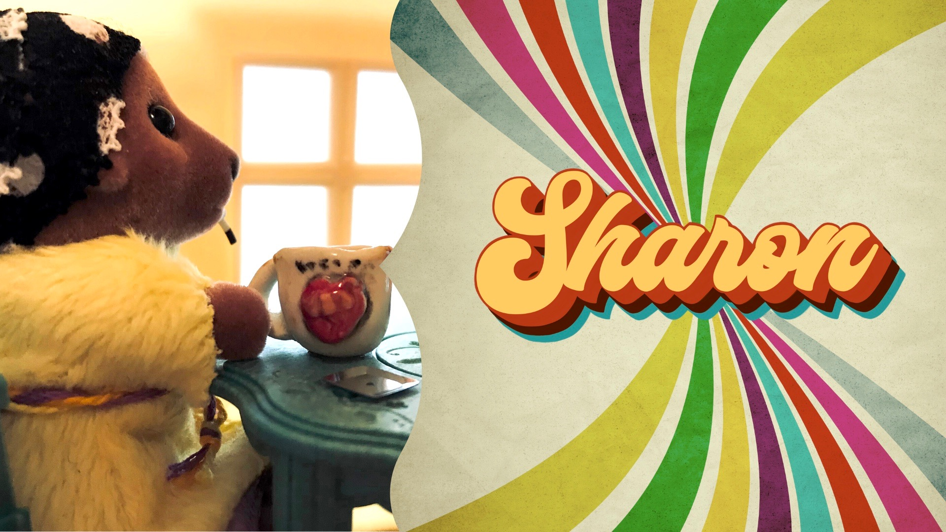 Sharon, star of the puppet docudrama 'Sharon,' is a working-class heroine to parents and their kids in Pittsburgh.