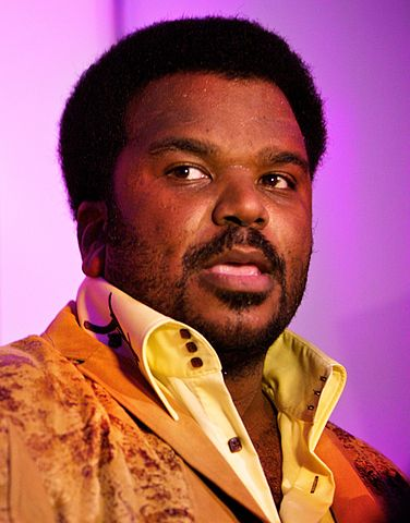 Actor/comedian Craig Robinson. Photo: Mark Sebastian and Wikipedia.