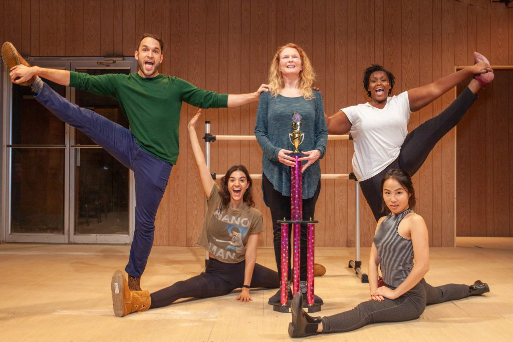 barebones Productions is staging Clare Barron's 'Dance Nation,' which was a finalist for this year's Pulitzer Prize for Drama. (photo: Brittany Spinelli)