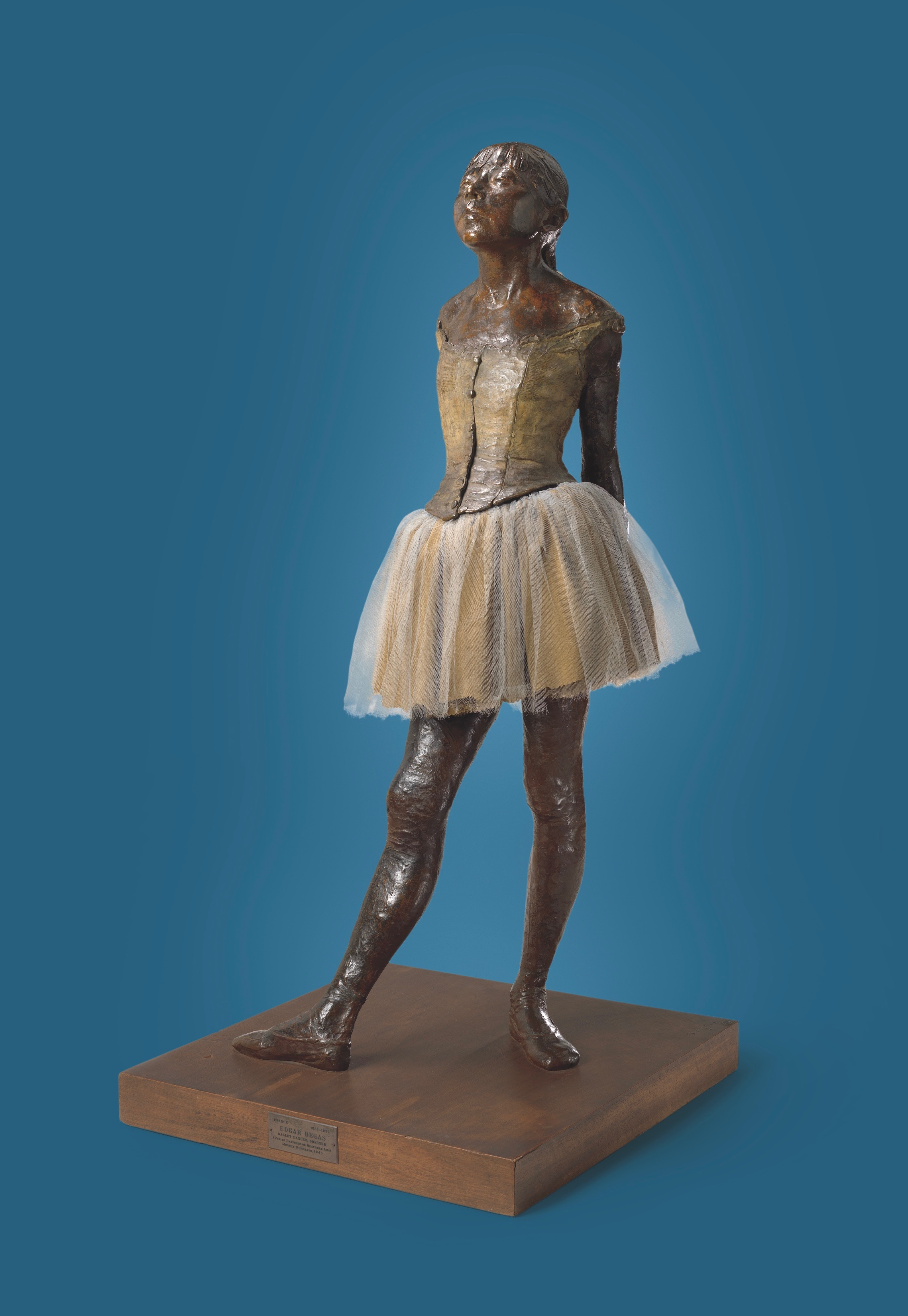 Feminine and formidable: Degas sculpted 'Little Dancer Aged Fourteen' in wax around 1880; this bronze was cast in 1922.