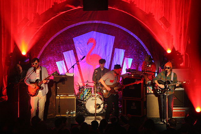 Dr. Dog in concert at New York's Bowery Ballroom. photo: MusikAnimal and Wikipedia.