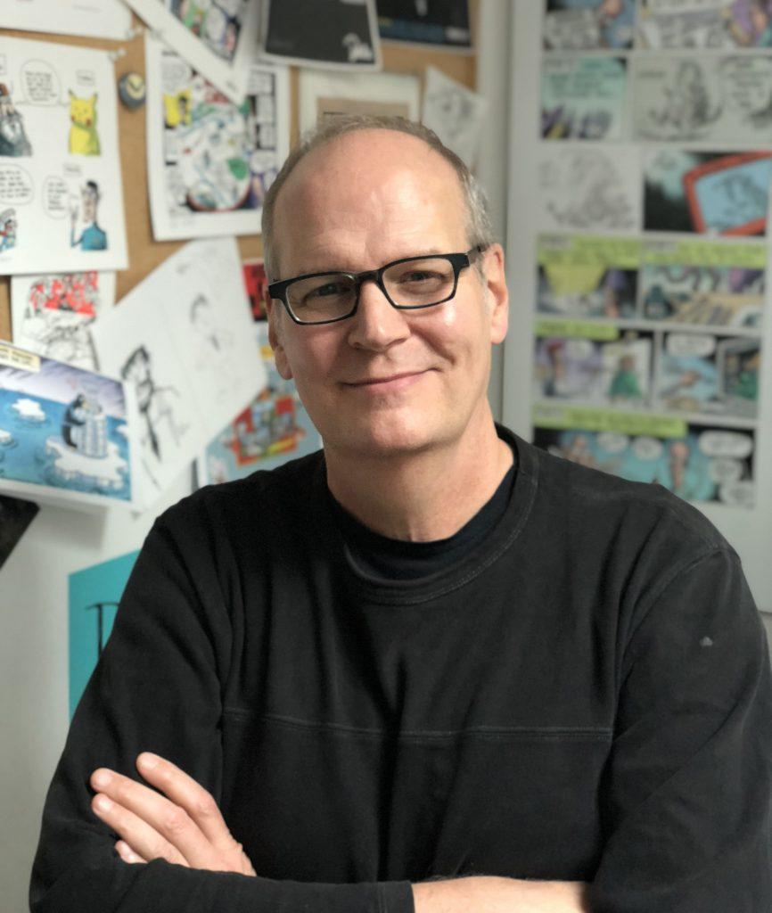 Rob Rogers, editorial cartoonist.