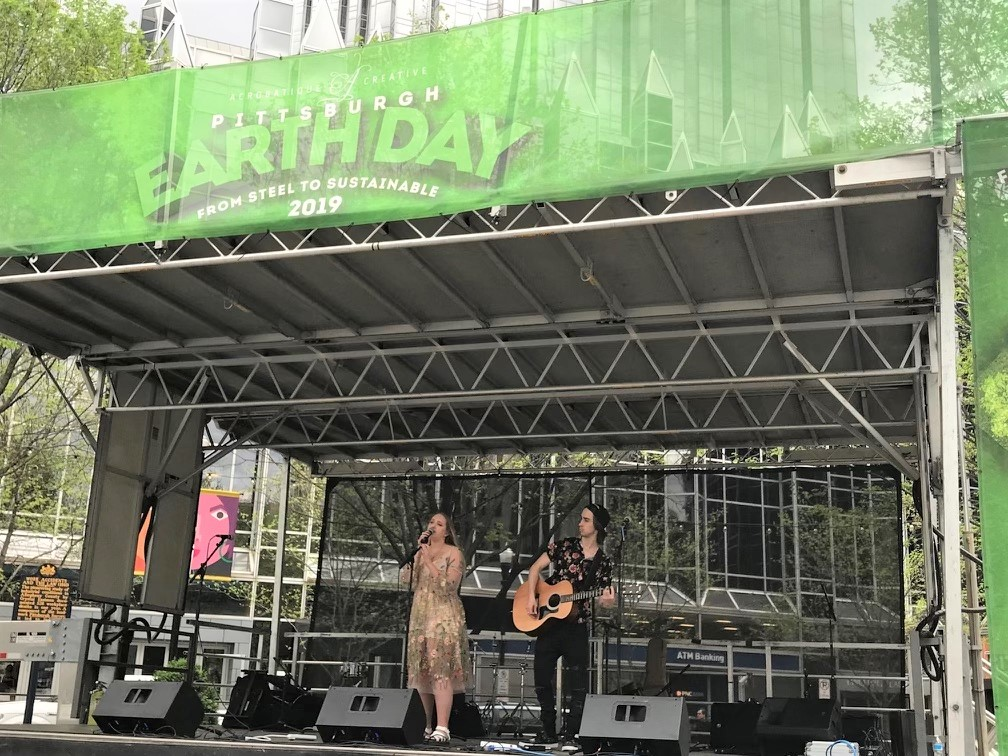 The Go Green Festival in Market Square will feature a variety of performers, environmental exhibits, and activities the weekend of June 4 - 5.