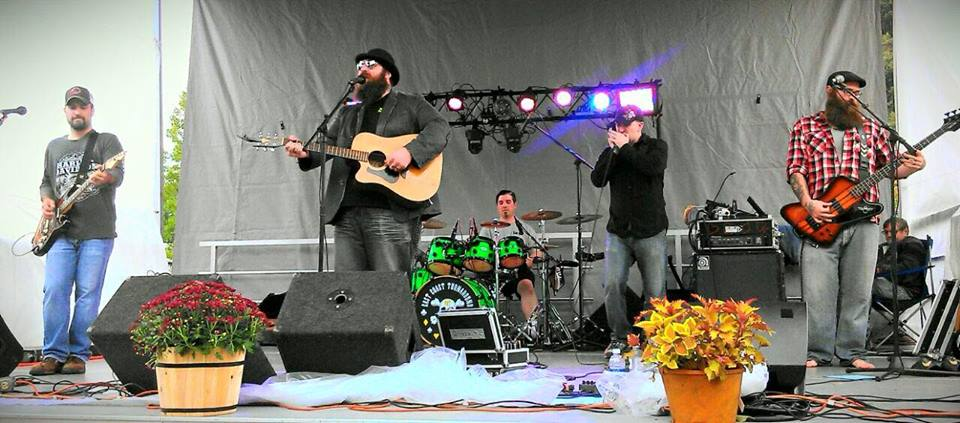 Fear the beards! Trucker-rock ensemble East Coast Turnaround keeps on truckin' at the Westmoreland Fair, one of several big rural fairs near Pittsburgh.