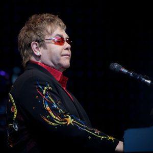 Elton John performing in Skien, Norway in 2009. (Photo: Ernst Vikne and Wikipedia)