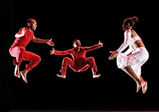 The law of gravity says humans can't fly but Evidence (Brown's dance company) proves that they can.