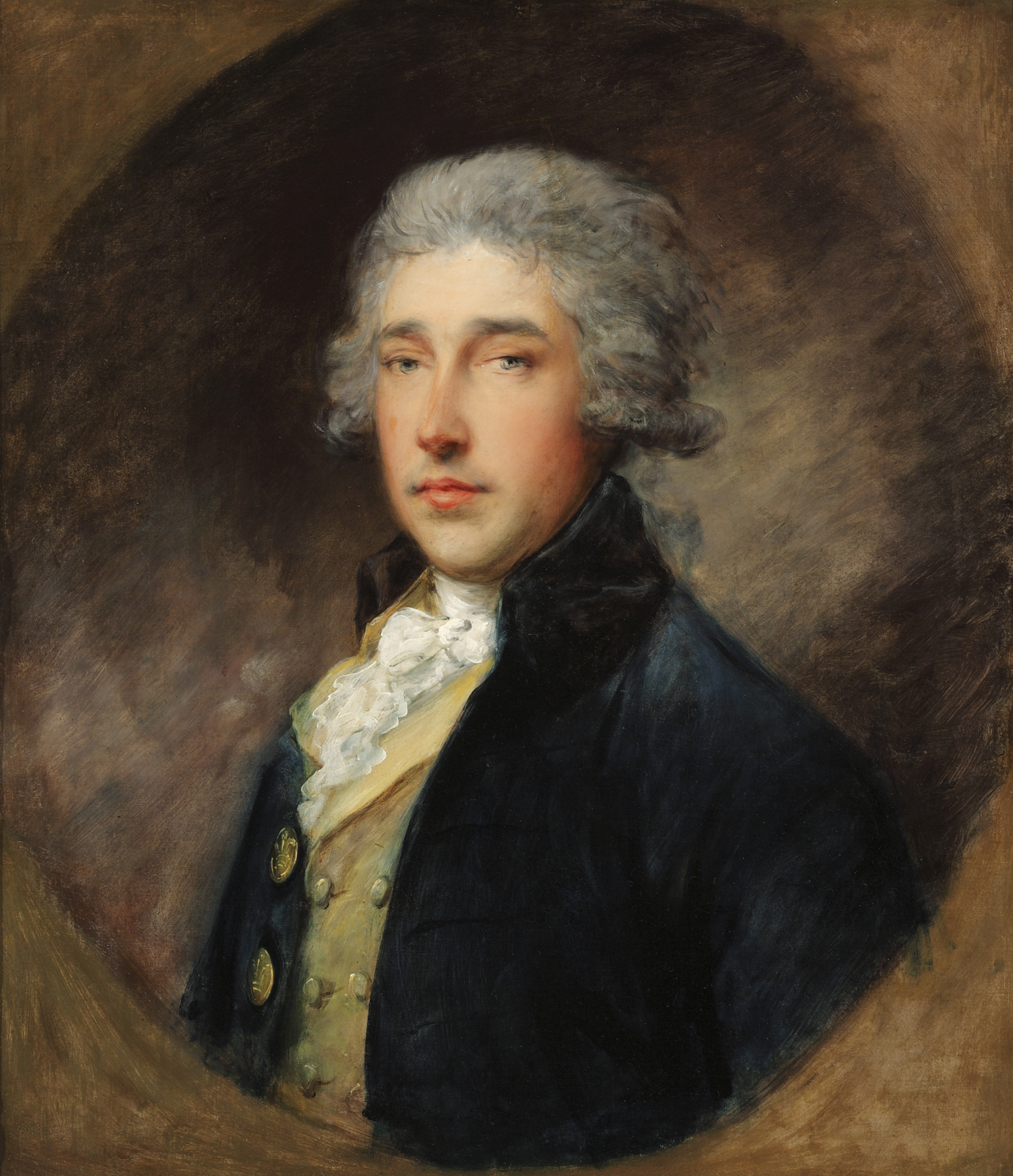 "Here's lookin' at you: ""Portrait of Sir Richard Brinsley Sheridan"" by Gainsborough, circa 1785."