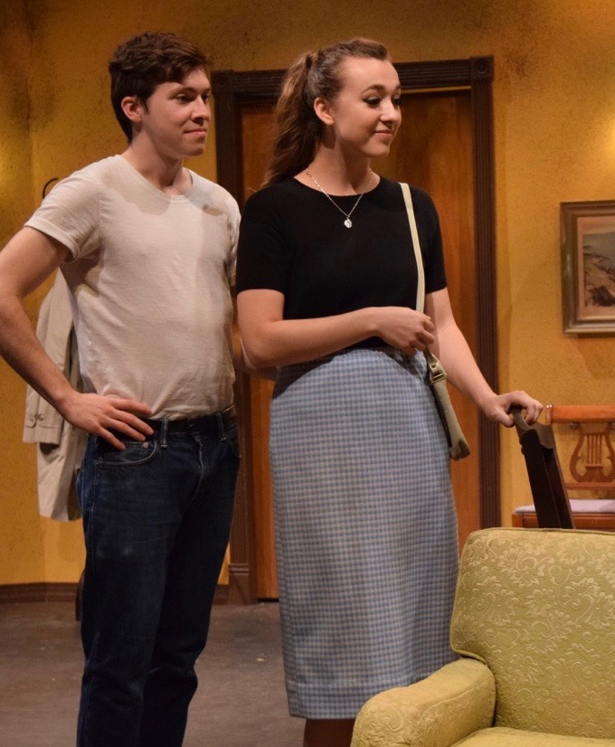 <H1>'Come Back, Little Sheba' an Intense '50s Drama'</H1> The struggle to achieve dreams and the setbacks along the way provide the thematic elements of the Summer Company's production. See Mike Vargo's Review.