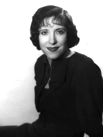 Gracie Allen has a historic role in Rachel Karp's 'It's in the Bag.' (photo, undated, CBS Radio)