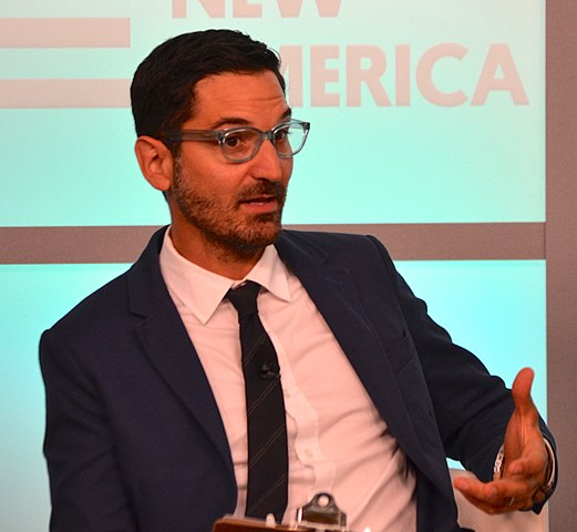 Guy Raz, host and editorial director of NPR's 'Ted Radio Hour' and 'How I Made This.' Photo: New America and Wikipedia.