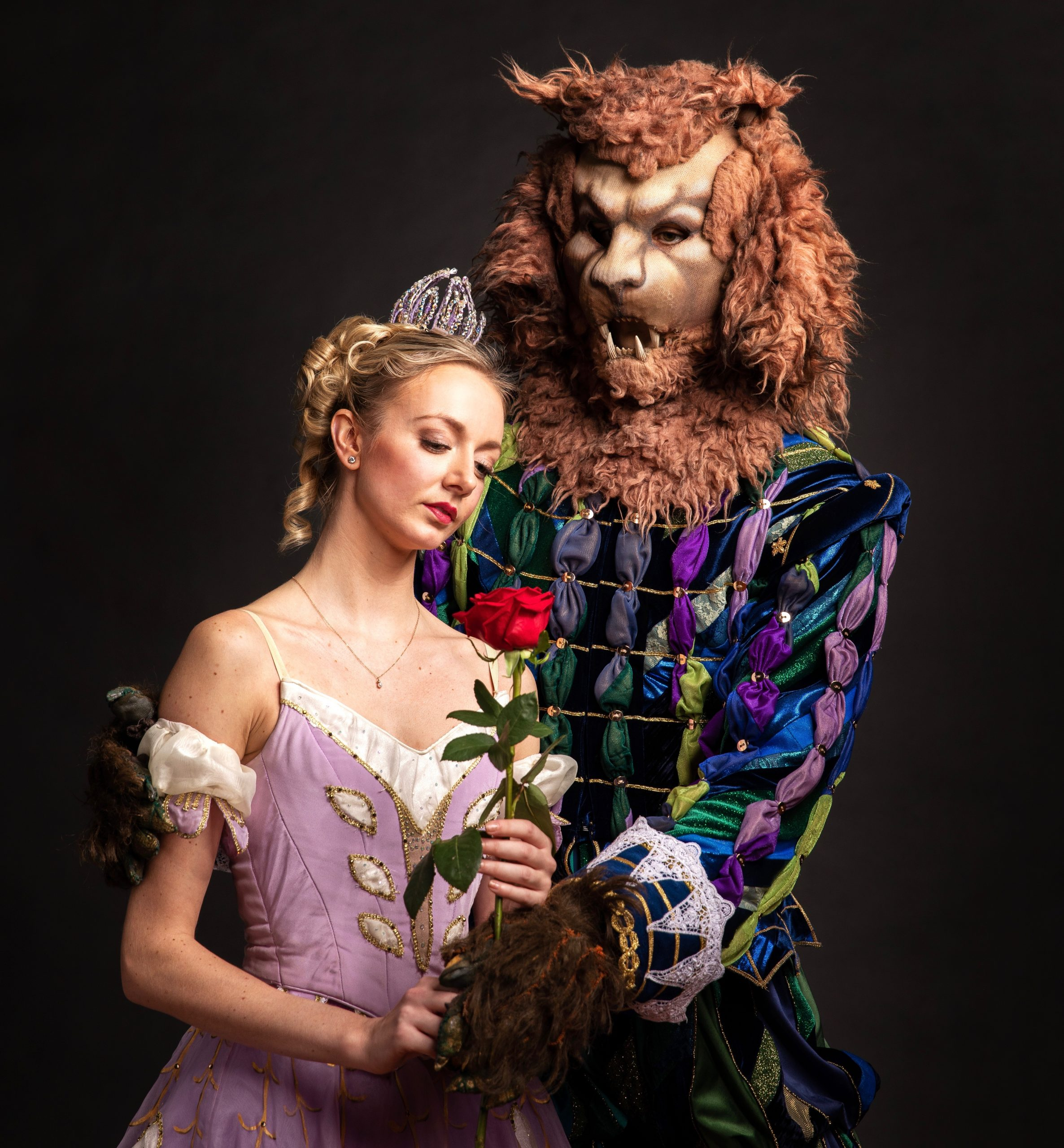 Dancers Hannah Carter and Alejandro Diaz make a picture-perfect couple in PBT's 'Beauty and the Beast.' (photo: Duane Rieder)