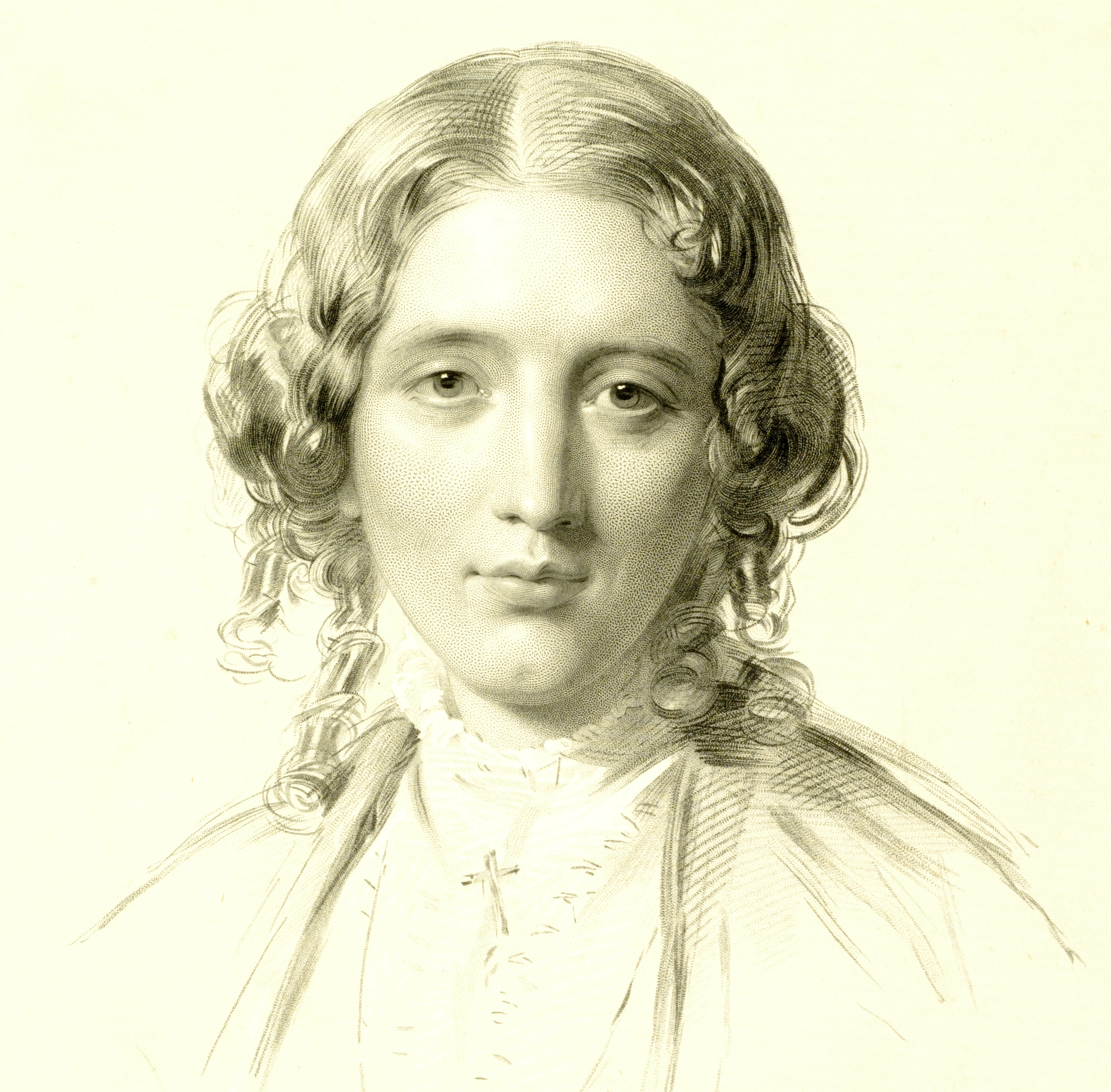 Harriet Beecher Stowe, posed here for an author's portrait, wrote a book read 'round the world.